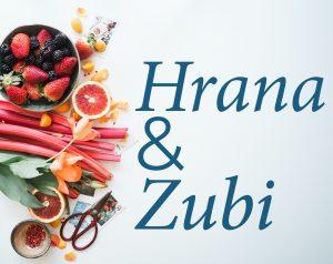 zdrava hrana s jedne strane a sa druge naptis hrana i zubi