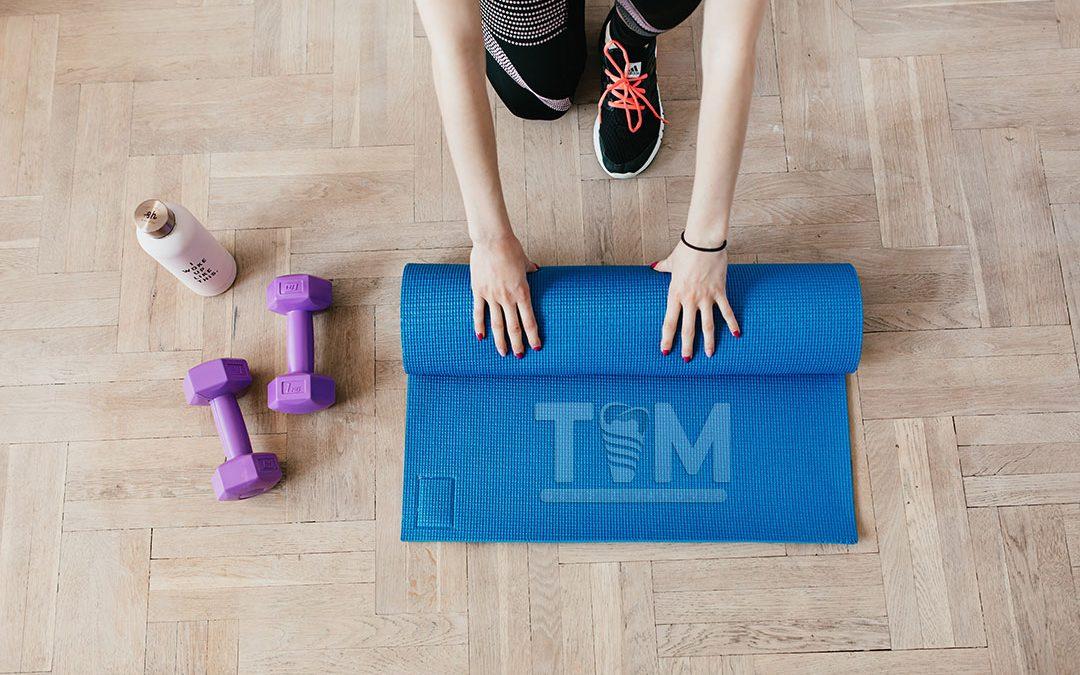 Fitnes, teretana, vežbanje, sport i zubi